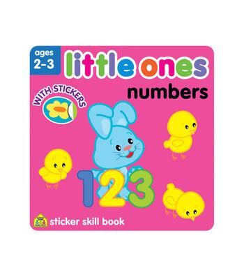 Little Ones Numbers Sticker Workbook