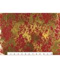 Keepsake Calico Cotton Fabric 43\u0027\u0027-Red & Metallic Crackle
