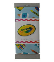 Crayola® Fabric 1yd Cut-Crayon Box Aqua, , hi-res