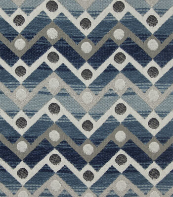 "Richloom Studio Upholstery Fabric 54""-Playhouse/Delft"