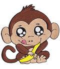 Patch-Baby Monkey