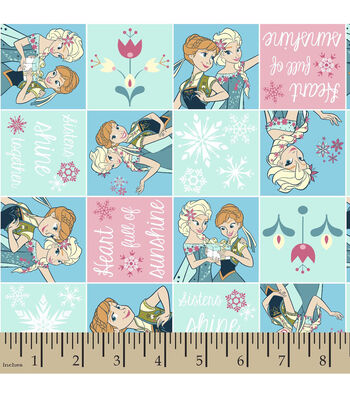 "Disney® Frozen Flannel Fabric 42""-Fever Patch"