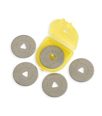 Olfa Rotary Blade Refills-28mm 5/Pkg
