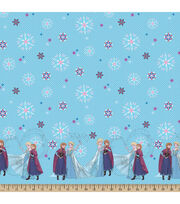 "Disney® Frozen Mock Smock Fabric 21""-Sisterly Love, , hi-res"