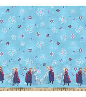 "Disney® Frozen Mock Smock Fabric 21""-Sisterly Love"
