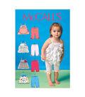 McCall\u0027s Infants Dress-M7142