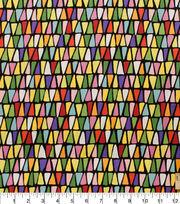 Alexander Henry Premium Quilt Cotton Fabric 45''-Triangulo, , hi-res