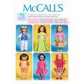 McCall\u0027s Crafts Doll Clothes-M7106