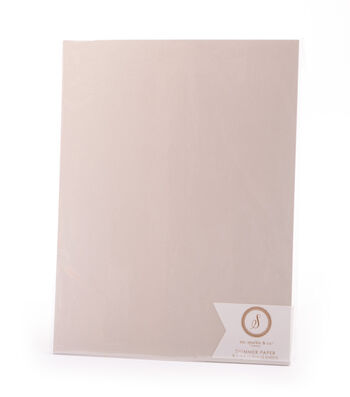 Ms. Sparkle & Co. Pack of 12 8.5''x11'' Shimmer Papers-Ivory
