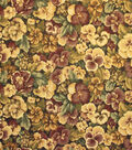 Home Decor 8\u0022x8\u0022 Fabric Swatch-Upholstery Fabric Barrow M5407-5518 Mulberry