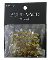 hildie & jo™ Boulevard 70 Pack Mix Gold Beads, , hi-res