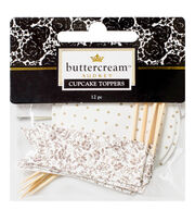 Buttercream™ Audrey Collection Decorative Food Toppers, , hi-res