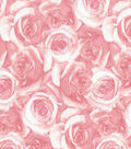 Keepsake Calico Cotton Fabric 43\u0027\u0027-Light Pink Packed Roses