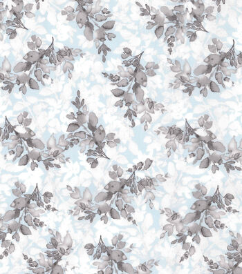 "Kathy Davis® Premium Cotton Fabric 44""-Floral Vines"