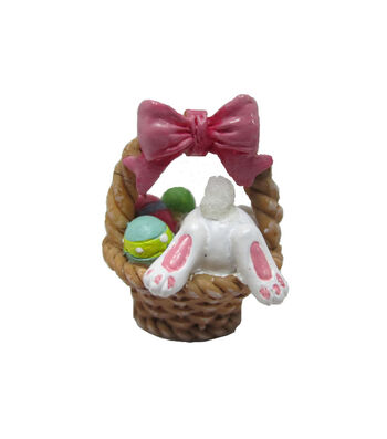 Easter Littles Basket with Bunny