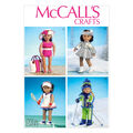 McCall\u0027s Crafts Doll Clothes-M6938