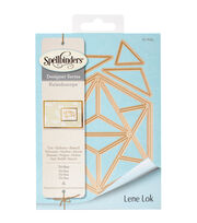 Spellbinders® Shapeabilities® 4 Pack Etched Dies-Tri-Hex, , hi-res