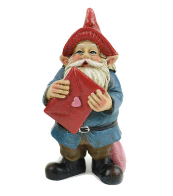 Valentine's Day Littles Polyresin Gnome with Valentine Card
