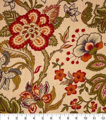 "Home Essentials Print Fabric 45""-Chalet Paprika"