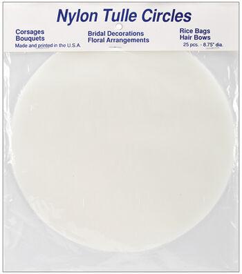 Falk 8-3/4'' Tulle Circles-25PK