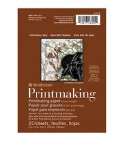 Strathmore Printmaking Paper Pad 5''x7'' 20 pcs, , hi-res