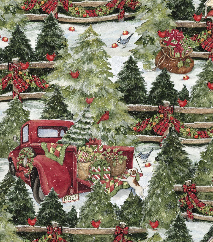 Christmas Cotton Fabric 43 Nice Ideas