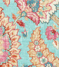 Waverly Upholstery Fabric 54\u0022-Castleford Reef