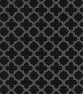 Home Decor 8\u0022x8\u0022 Fabric Swatch-Waverly Framework Black