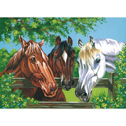 Reeves Paint By Number Kit Horses, , hi-res