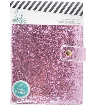 Heidi Swapp® Fresh Start Personal Memory Planner-Pink Glitter