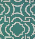 Solarium Outdoor Fabric 54\u0022-Carmody Peacock