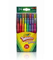 Crayola Twistables Fun Effects Crayons 24PK-Neon, Metallics, Rainbow, , hi-res