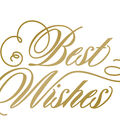 Couture Creations Anna Griffin Hotfoil Plate-Best Wishes Sympathy
