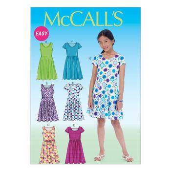 McCall's Girls' Dress-M7079