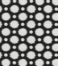 Kelly Ripa Upholstery Fabric-Social Circuit Ebony