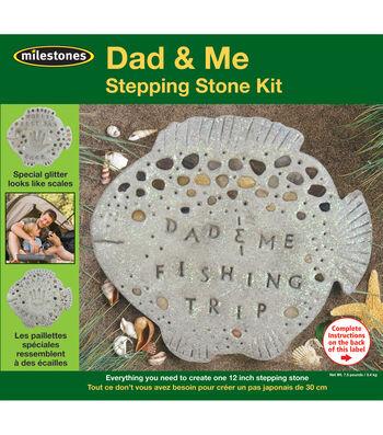 Mosaic Stepping Stone Kit-Dad