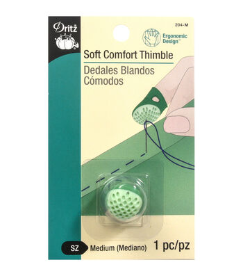 Dritz-Soft Comfort Thimble Medium