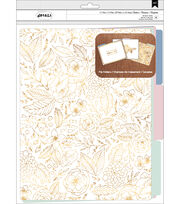 American Crafts™ Details Pack of 6 File Folders-Parisian Loft, , hi-res