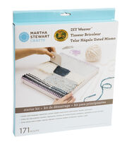 Martha Stewart Crafts DIY Weaver Starter Kit, , hi-res