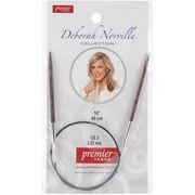 "Deborah Norville Fixed Circular Needles 32""-Size 0/2mm, , hi-res"