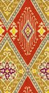IMAN Home Print Fabric 54\u0022-Ikat Diamond/Spice
