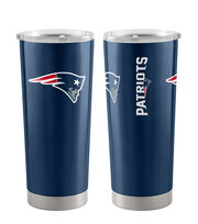 New England Patriots 20 oz Insulated Stainless Steel Tumbler, , hi-res