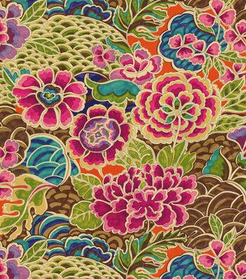 "Waverly Upholstery Fabric 54""-Pieceful Darjeeling"