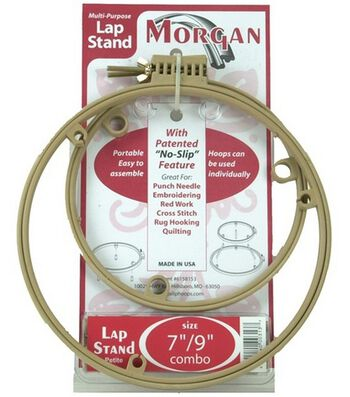 """Lap Stand Combo 7"""" And 9"""" Hoops"""
