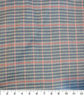 Varsity Club Suiting Fabric 57\u0022-Houndstooth & Plaid
