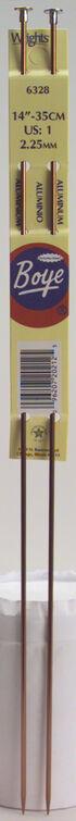 Single Point Aluminum Knitting Needles 14\u0022-Size 15/10mm