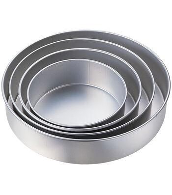 "Wilton® Performance Cake Pan Set 4/Pk-8"", 10"", 12"", 14"" Round"