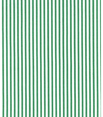 Holiday Showcase™ Christmas Cotton Fabric 43''-Green & White Stripes