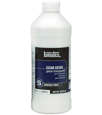Liquitex Acrylic Clear Gesso Surface Prep-32 Ounces