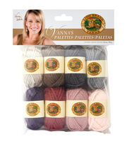 Lion Brand Vanna's Palette Bonbons Yarn 8/Pkg- Romantic, , hi-res